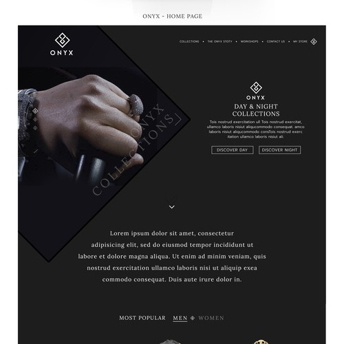Luxurious Jewellery Website