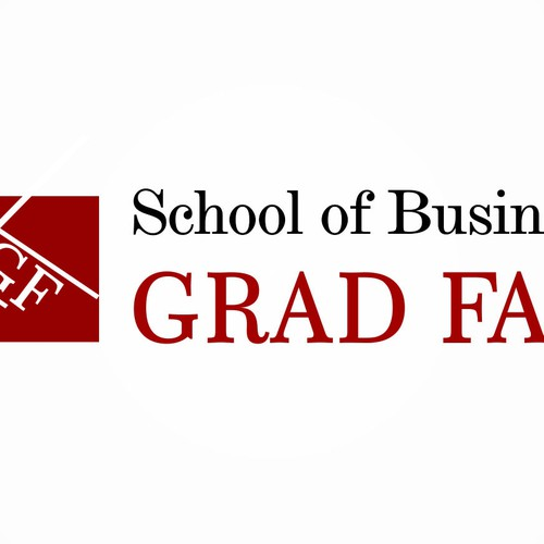Design the next logo for a Business Grad Fair