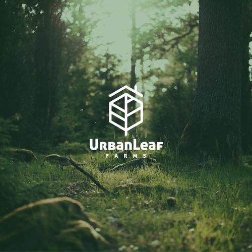 Urban leaf logo design