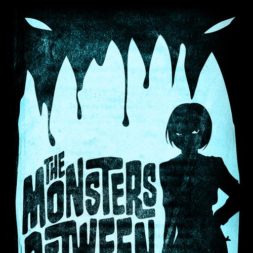 "Cover design for ""The Monsters Between"""