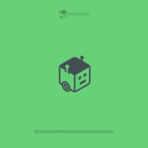 Logo design for PARKDROID