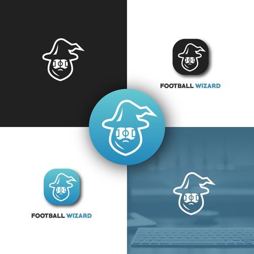 Football Wizard - App Logo Design