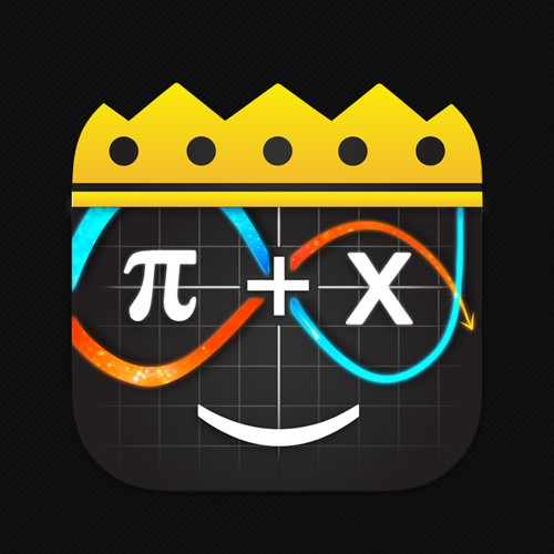 King Calculator App Icon