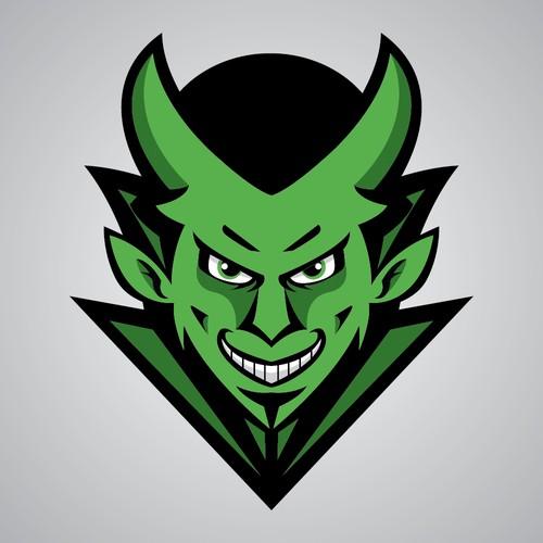 Diablo Verde Logo Concept