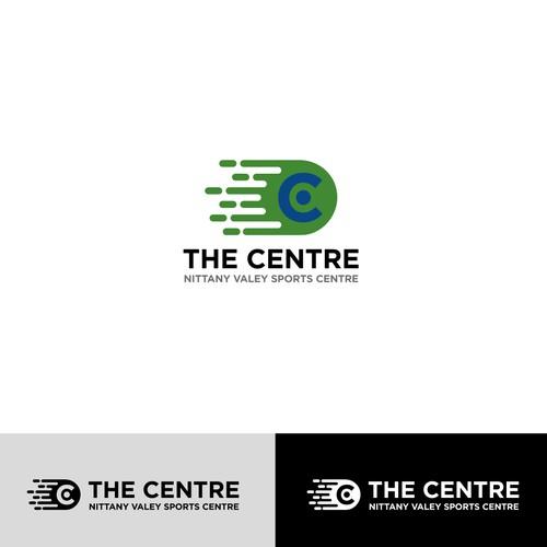 Logo for a sport center