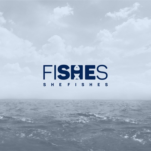 "Create a new logo for ""She Fishes"" to feature on our new female fishing and outdoor apparel"
