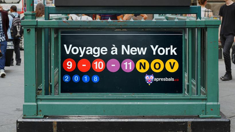 New-York bus trip event (High school)