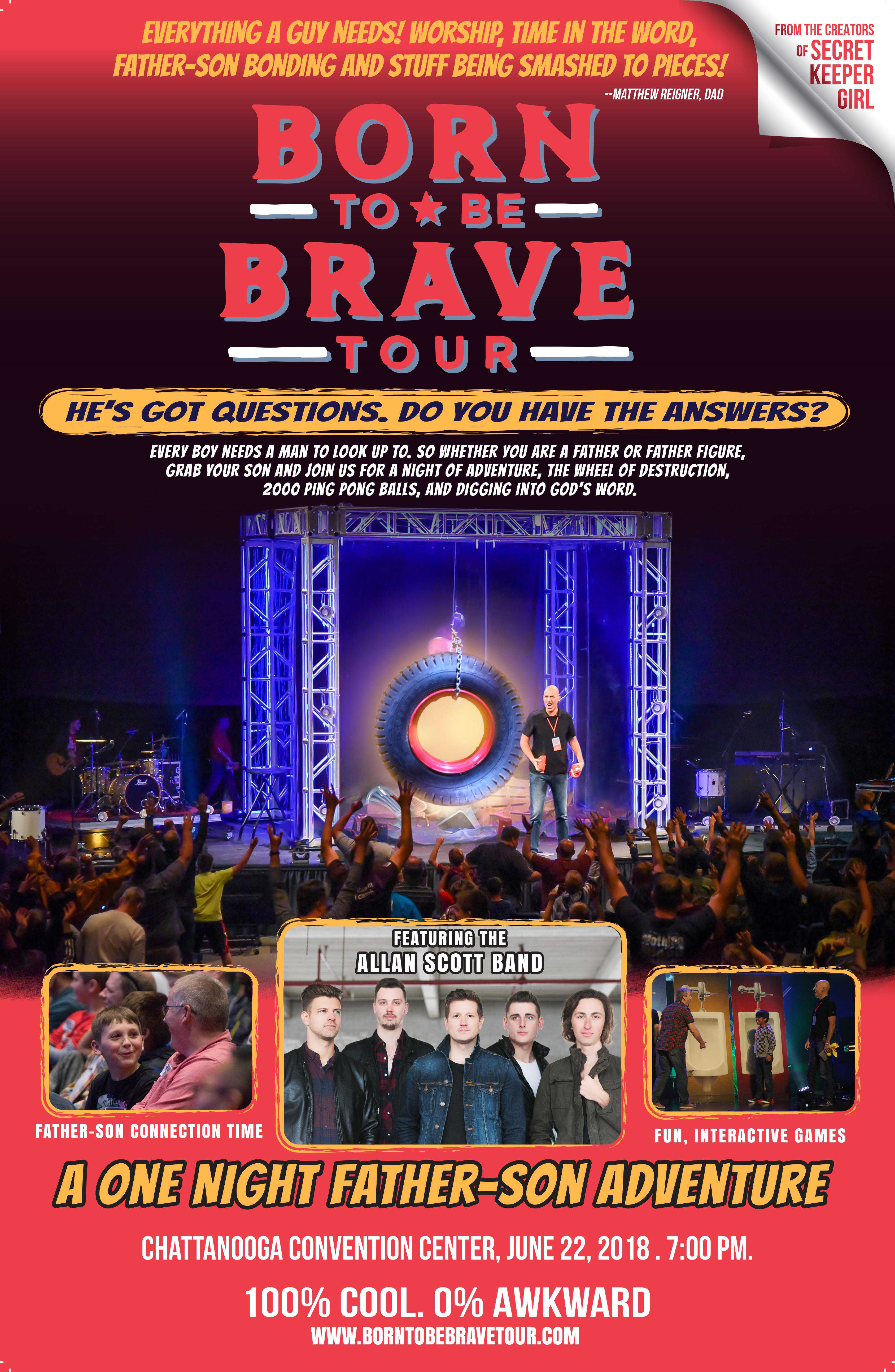 Born to Be Brave Tour Poster