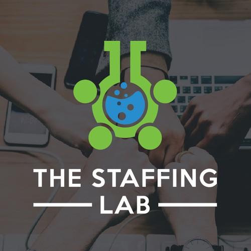 Staffing lab logo