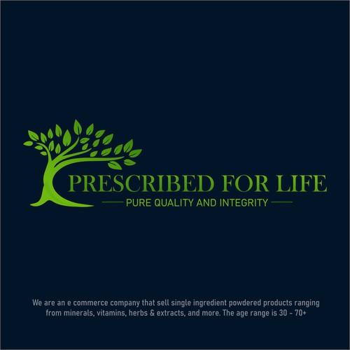Logo concept for Prescribed for Life