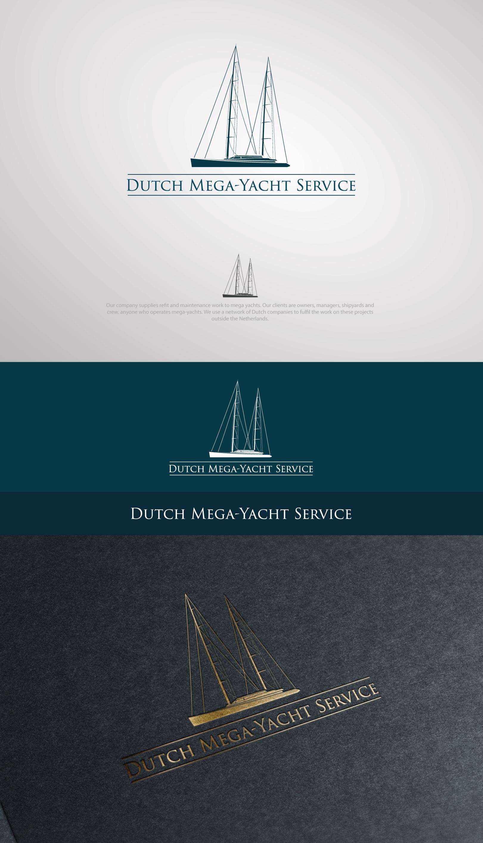 Dutch Mega-Yacht Service Logo Design Competition.