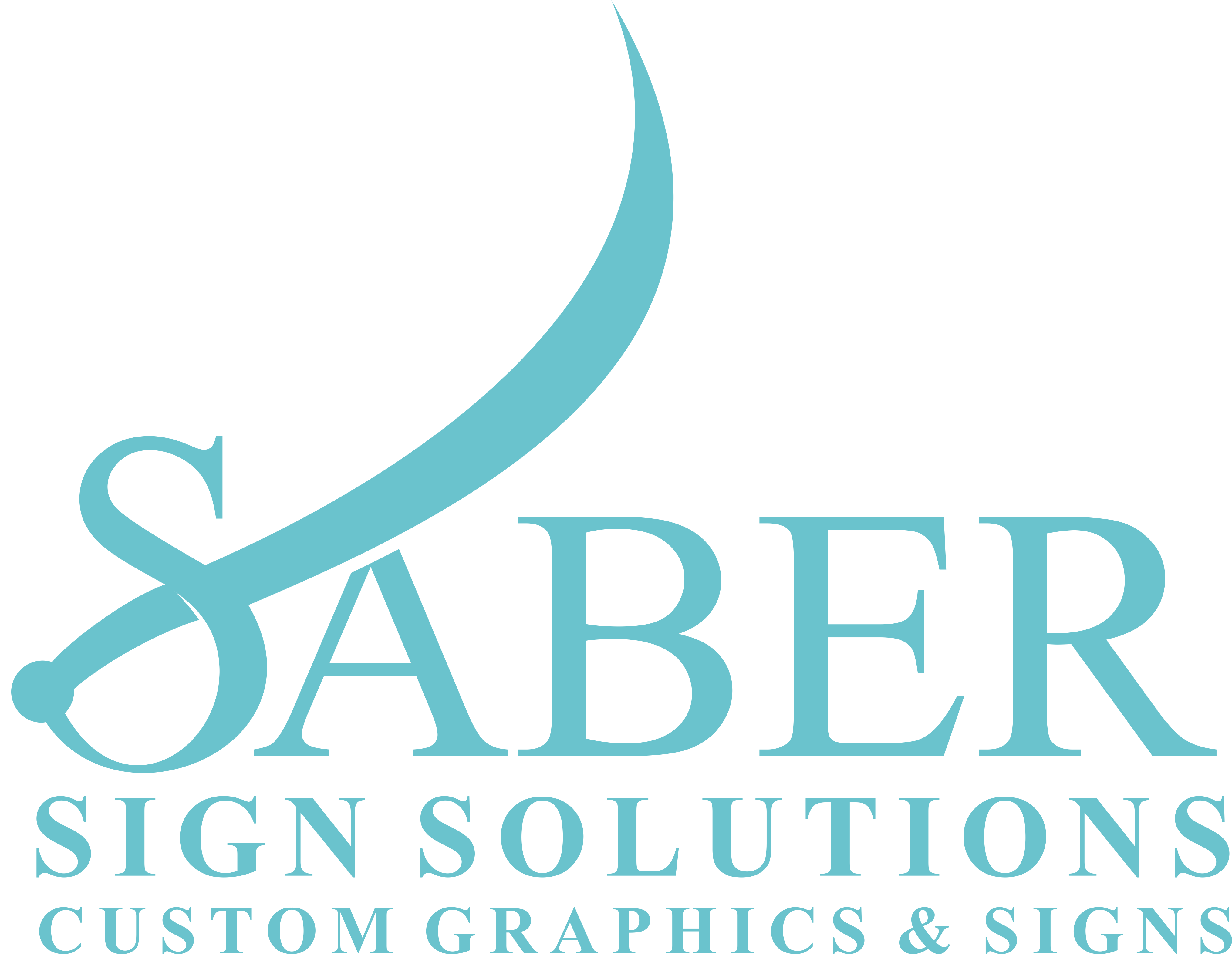 Design eye-catching, easily remembered logo for Saber Sign Solutions