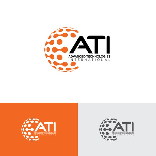 Sophisticated, High Tech logo for ATI