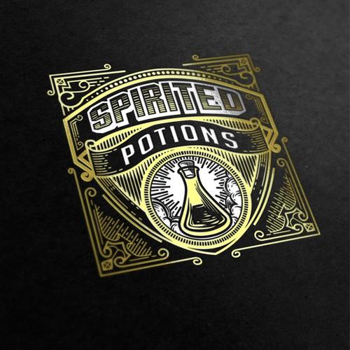 Logo for Spirited Potions