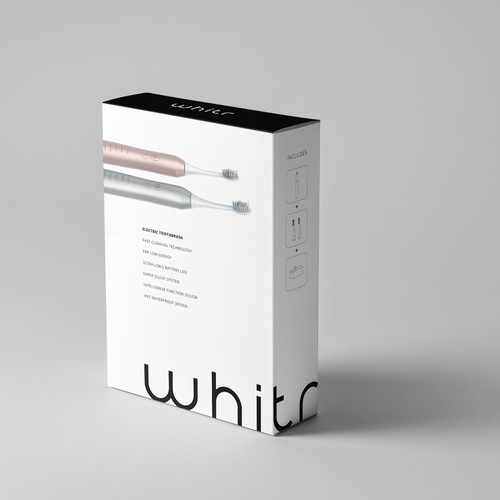 Electric Toothbrush Package Design