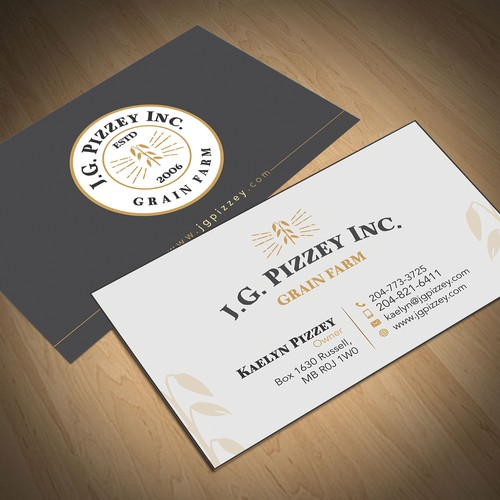 Create a Fresh Business Card & Letterhead