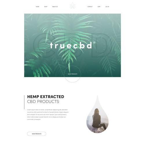 Simple & elegant web design