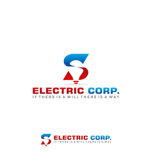 logo concept for S ELECTRIC CORP.