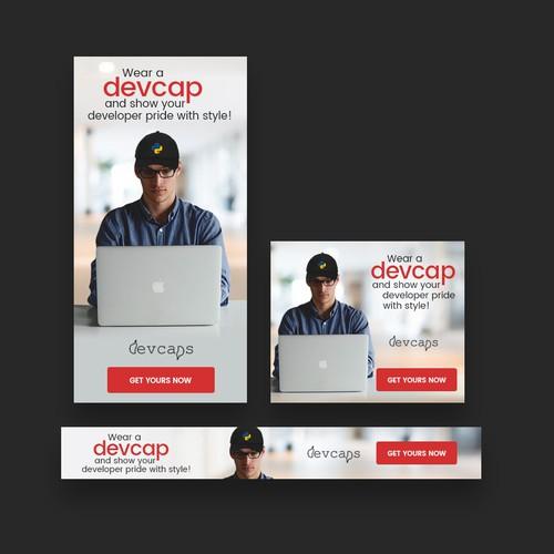 Banner ad targeting software developers