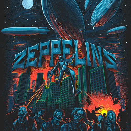 ZEPPELINS VS ZOMBIES