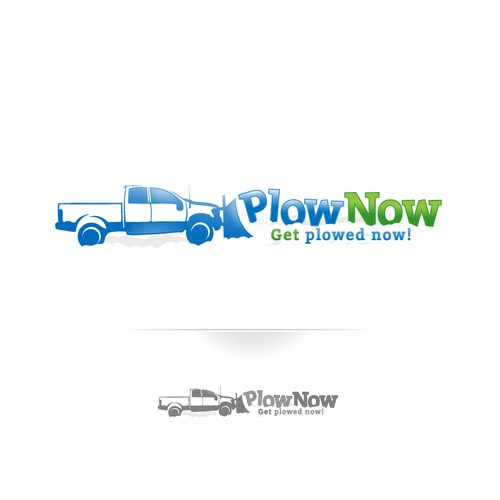 Logo for Truck Plowed