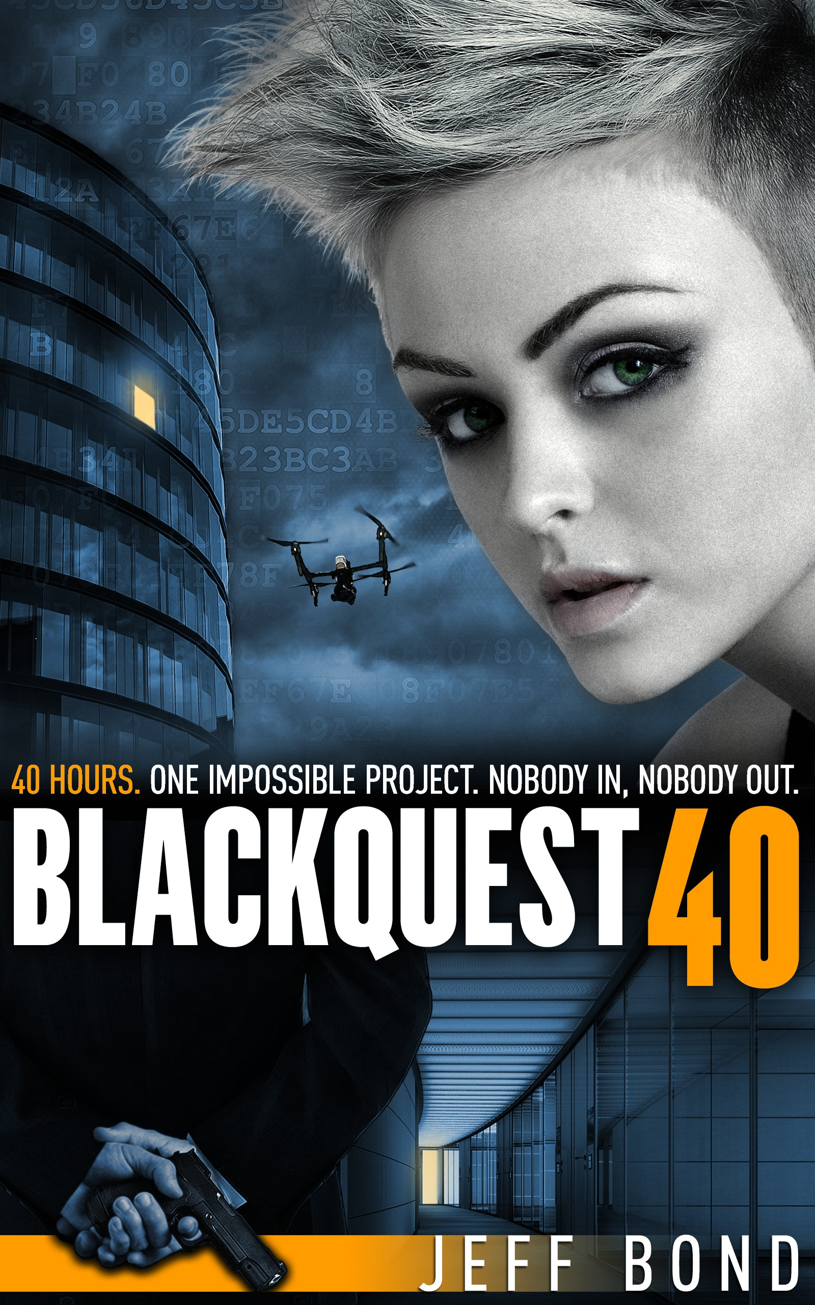 Book cover needed for Blackquest 40: Die Hard in a SanFran office