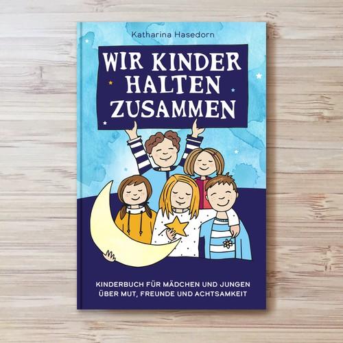 Kinderbuchcover für Mutmach- & Gute-Nacht-Geschichten