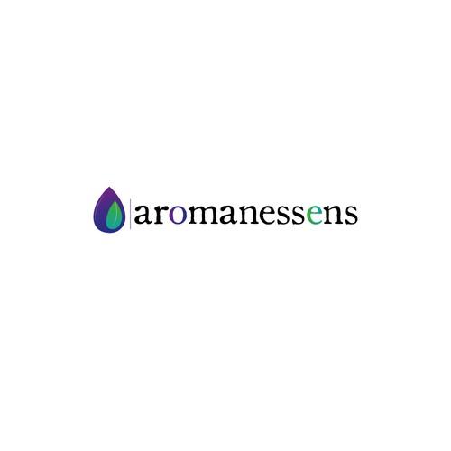 Concept de logo pour aromathérapie
