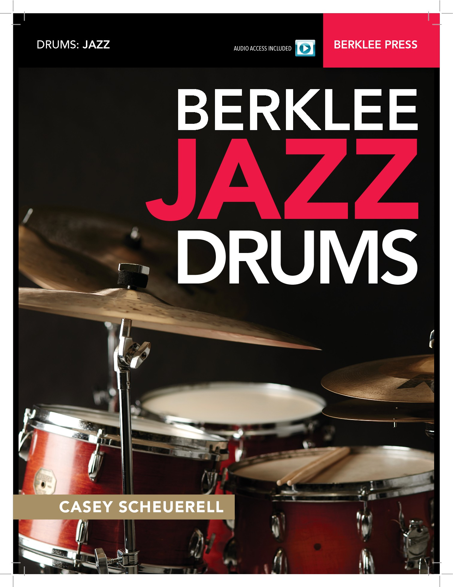 Jazz Drum Book Cover for Berklee College of Music