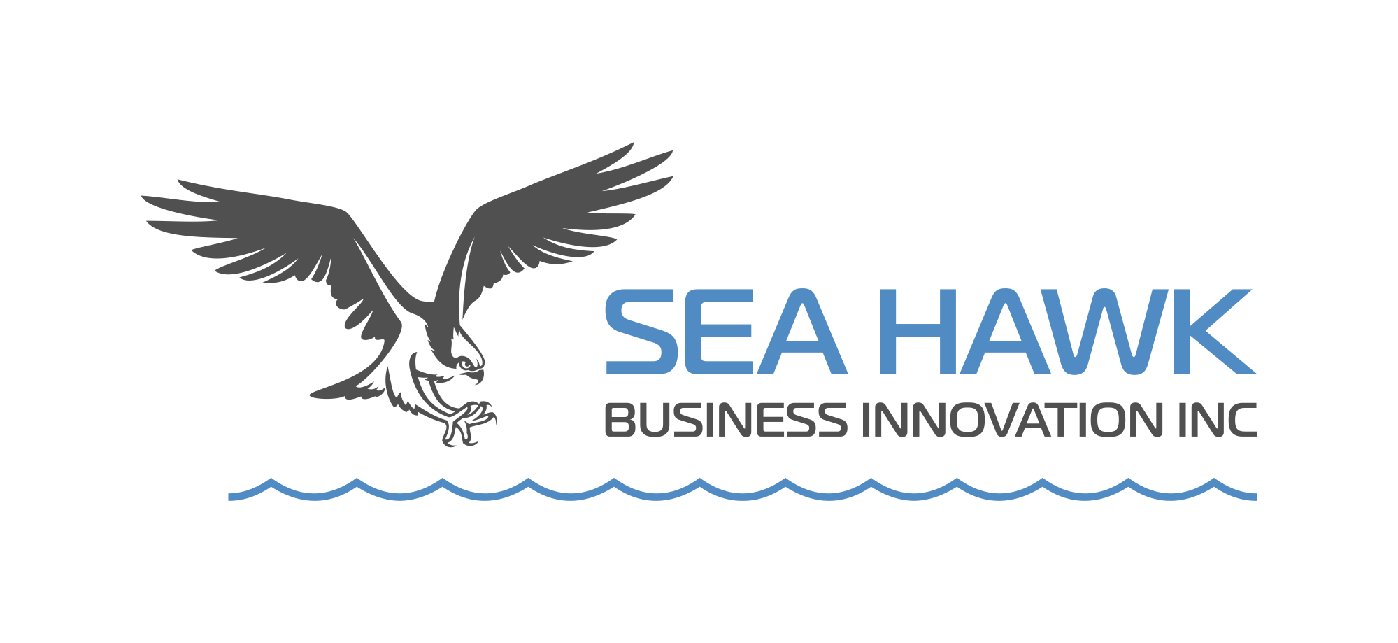 Osprey logo for consultant hunting for the prize beneath the surface