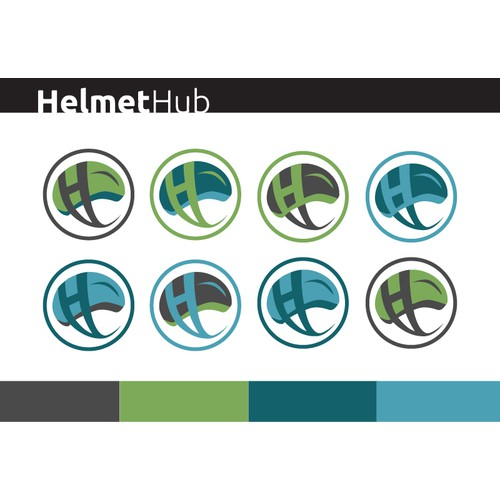 Help HelmetHub Create a Dazzling, Brand-Building Icon!