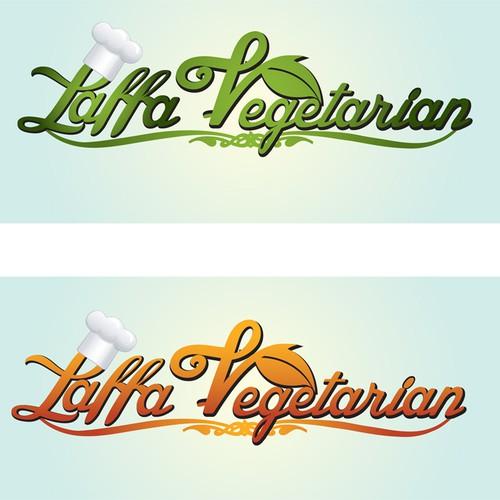 Create the next logo for Laffa Vegetarian