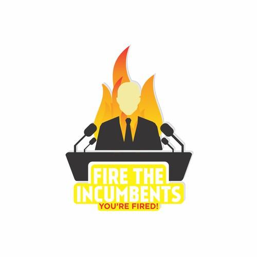 Fire The Incumbents Logo