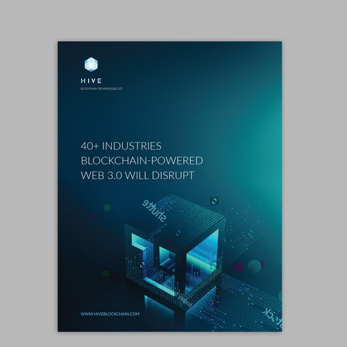 Blockchain eBook Report Design