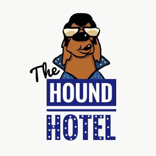 Logo for dog hotel