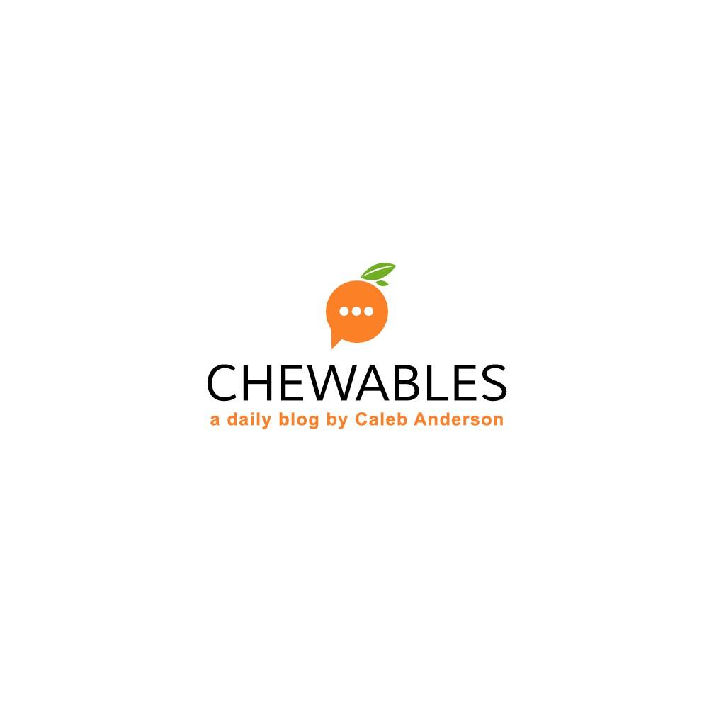 Design a fresh, inspiring logo for the Chewables blog