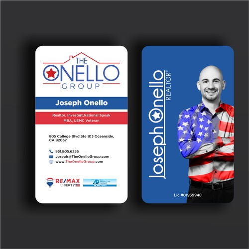 Military Real Estate Business Card