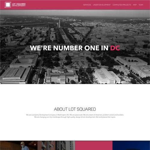 Lot Squared Landing Page