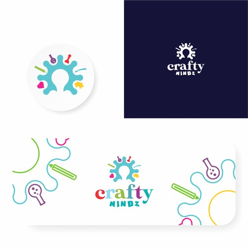 Design a Child Care Logo appealing to kids and parents
