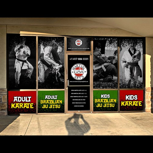 Advertising Store Front Design