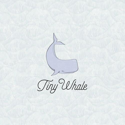 Tiny Whale Surf Lodge logo