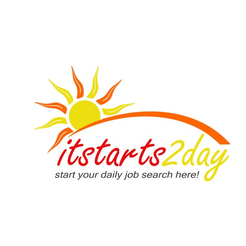 Creat a logo for itstarts2day.com!