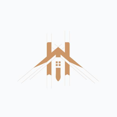 Helsta Home logo design