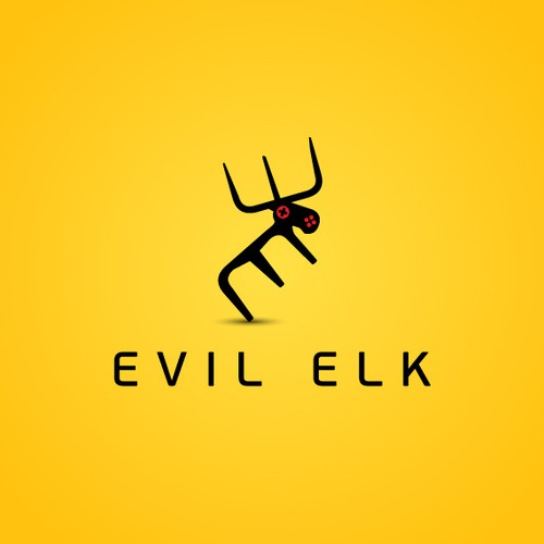 In need of an abstract smooth logo for Evil Elk game studio