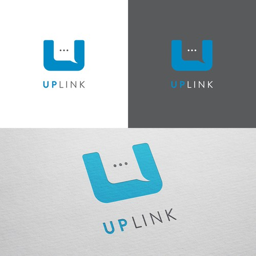 Minimal logo concept for Uplink
