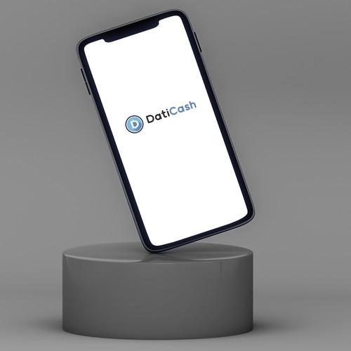 Bold logo concept for Daticash.