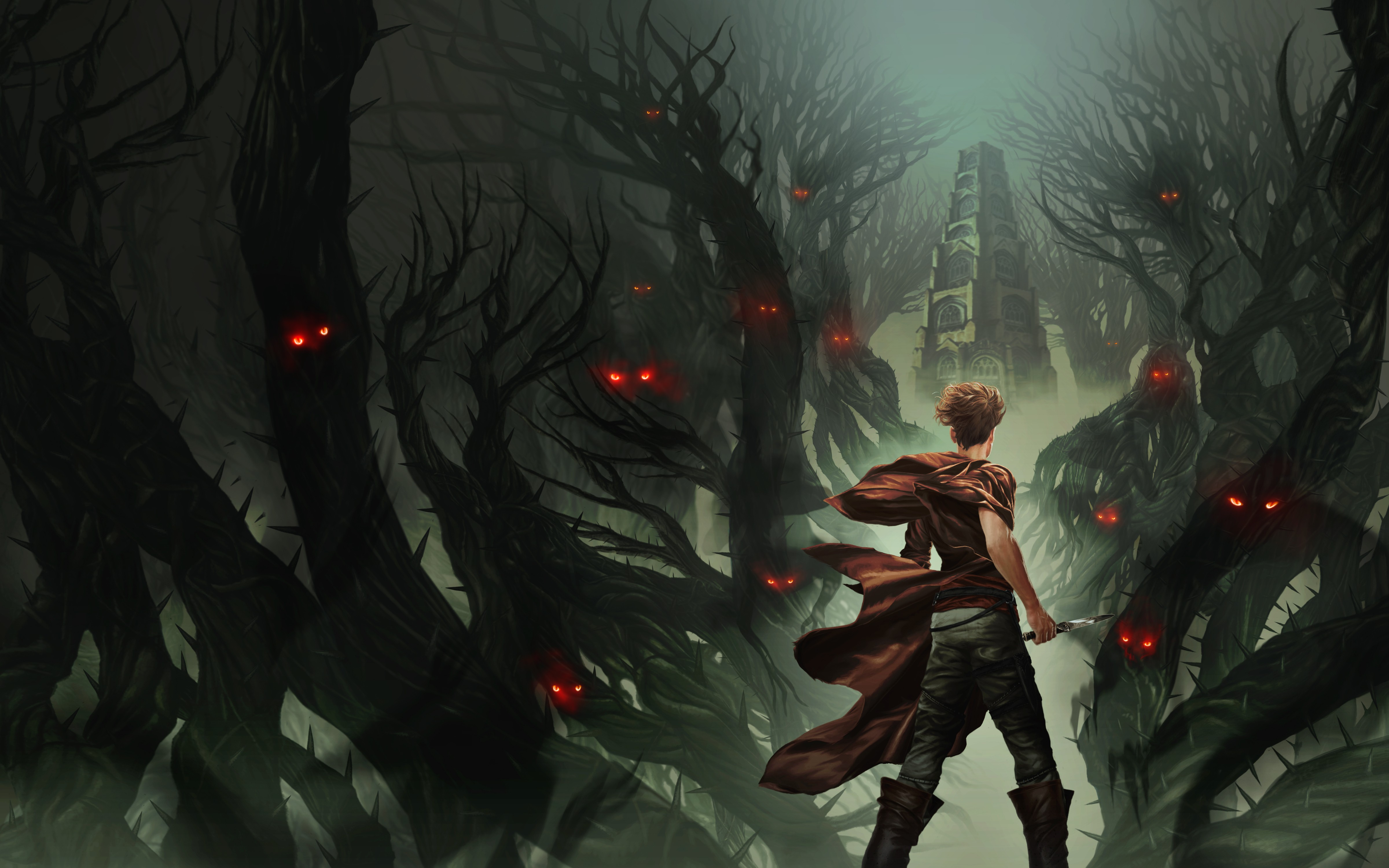 The Hidden Tower Cover Art and website graphics