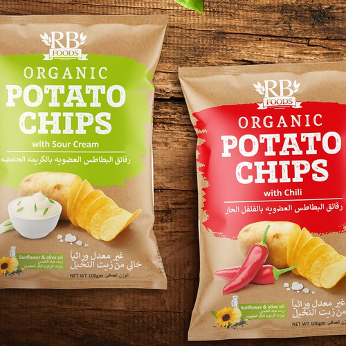 Packing Popato Chips RB Foods