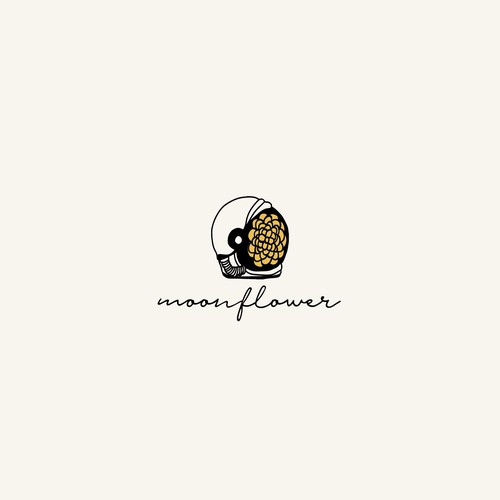 Logo Concept for Moonflower