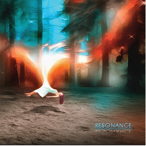 album art for fusion band Resonance